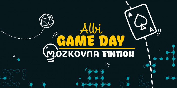 Albi GAME DAY - Mozkovna edition