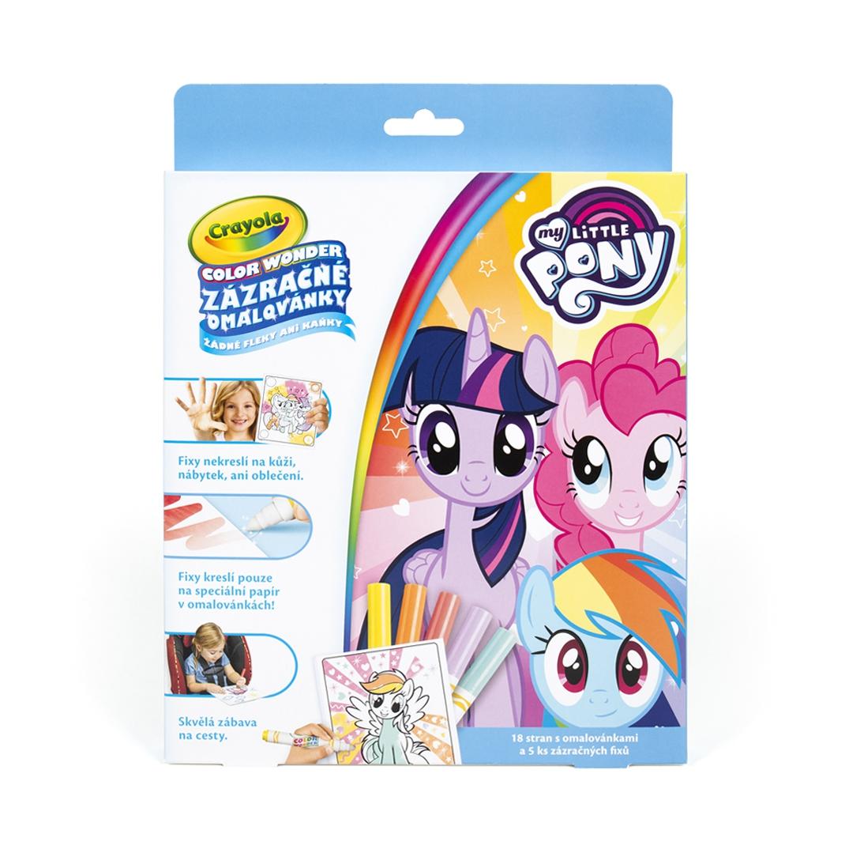 Zázračné omalovánky - My little Pony - Crayola
