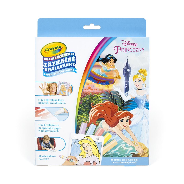 Zázračné omalovánky - Disney Princezny - Crayola