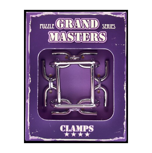 Hlavolam Grand Master - Clamps 4/4